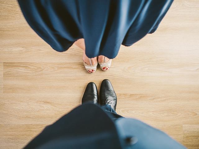 pohled na boty