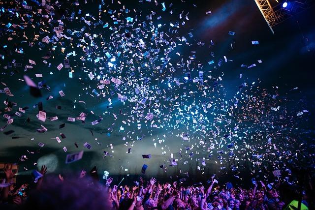 konfety ve tmě