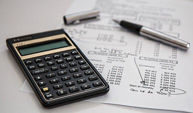 počítání rozpočtu