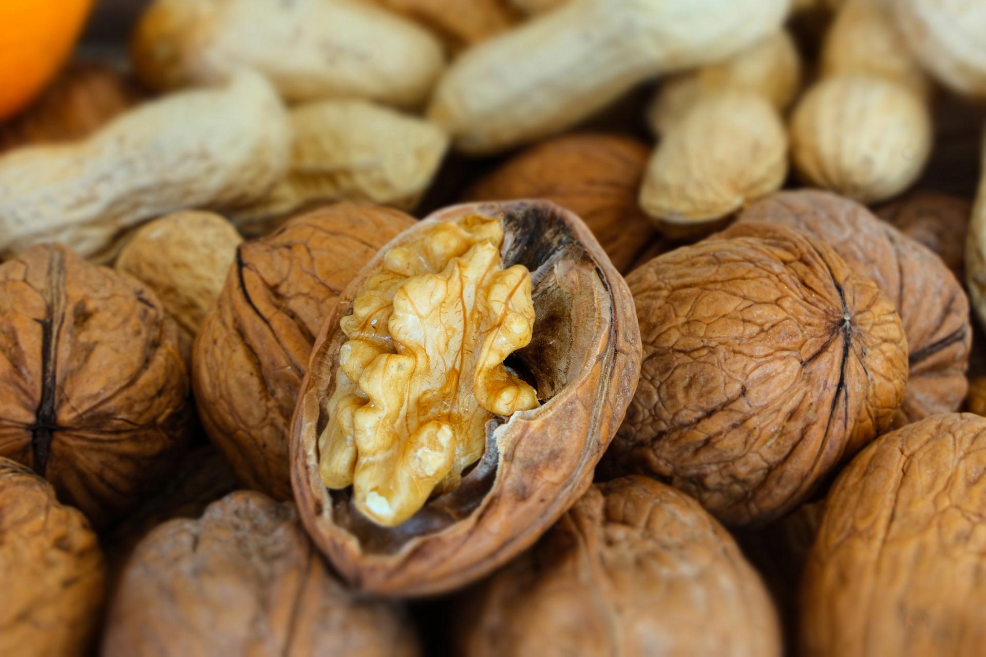 vlašské ořechy se slupkou